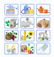 icons for the design vector image