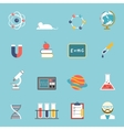 Science And Research Icon Set vector image