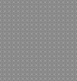 Circles gray seamless background pattern vector image