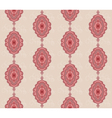 seamless pattern with figured oval vector image