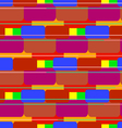 Colored bricks vector image