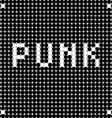 punk dots vector image