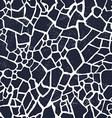 Seamless giraffe fur pattern vector image