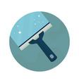 squeegee scraper wiper vector image