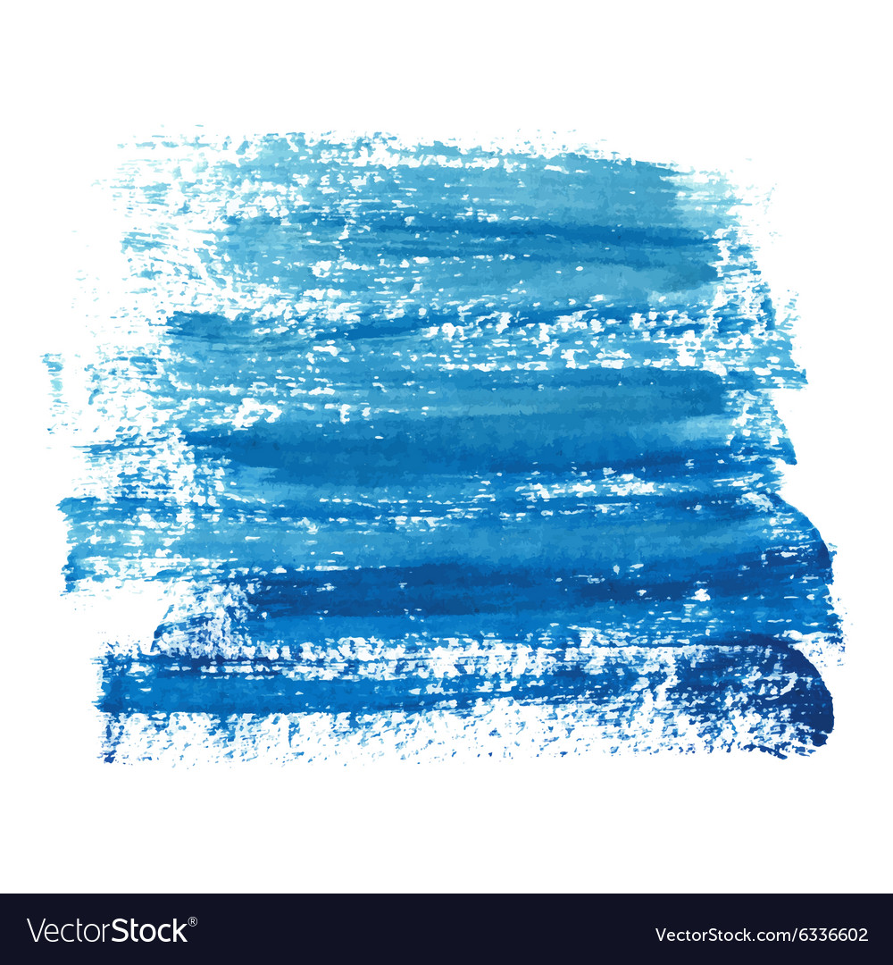 Marine blue paint abstraction vector