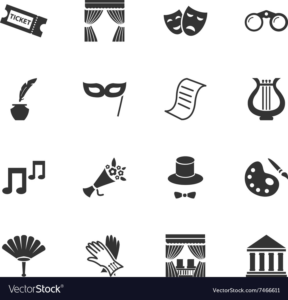 Ter icons set vector