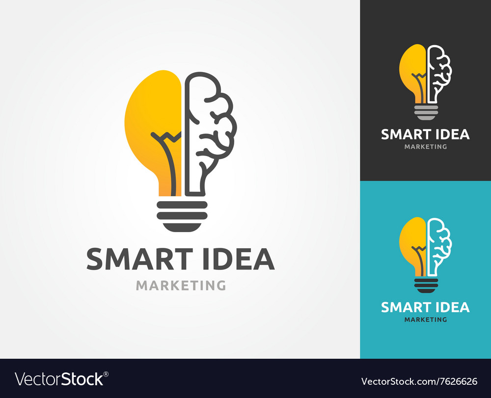 Light bulb  idea creative technology icons vector