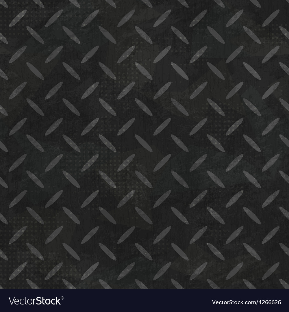 Rubber seamless pattern with grunge effect vector