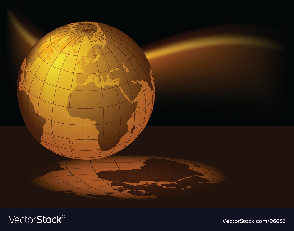 Earth magmatic vector