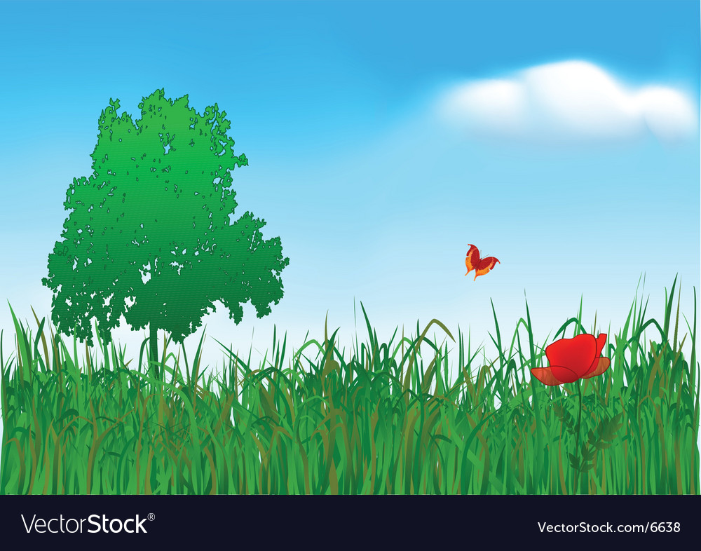 Meadow vector
