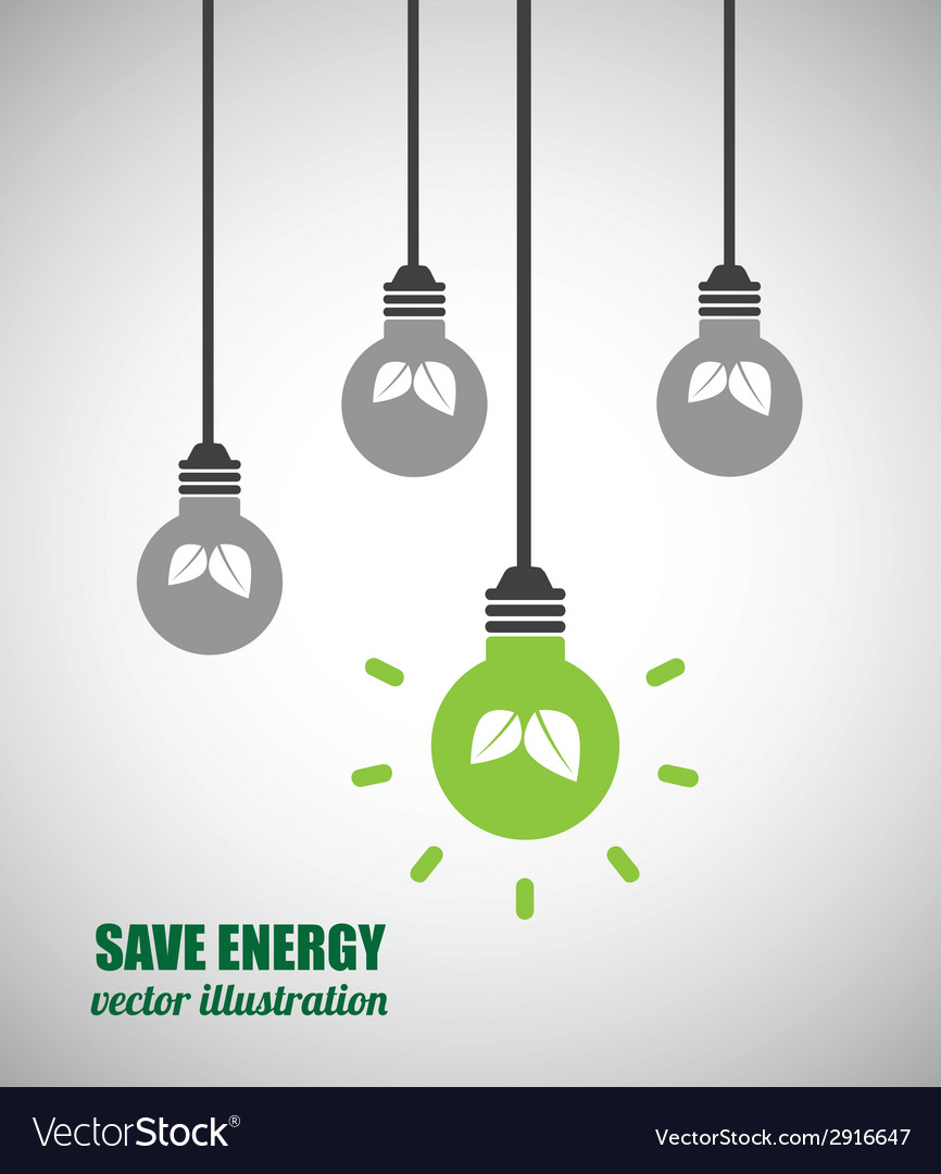 Energy graphic vector