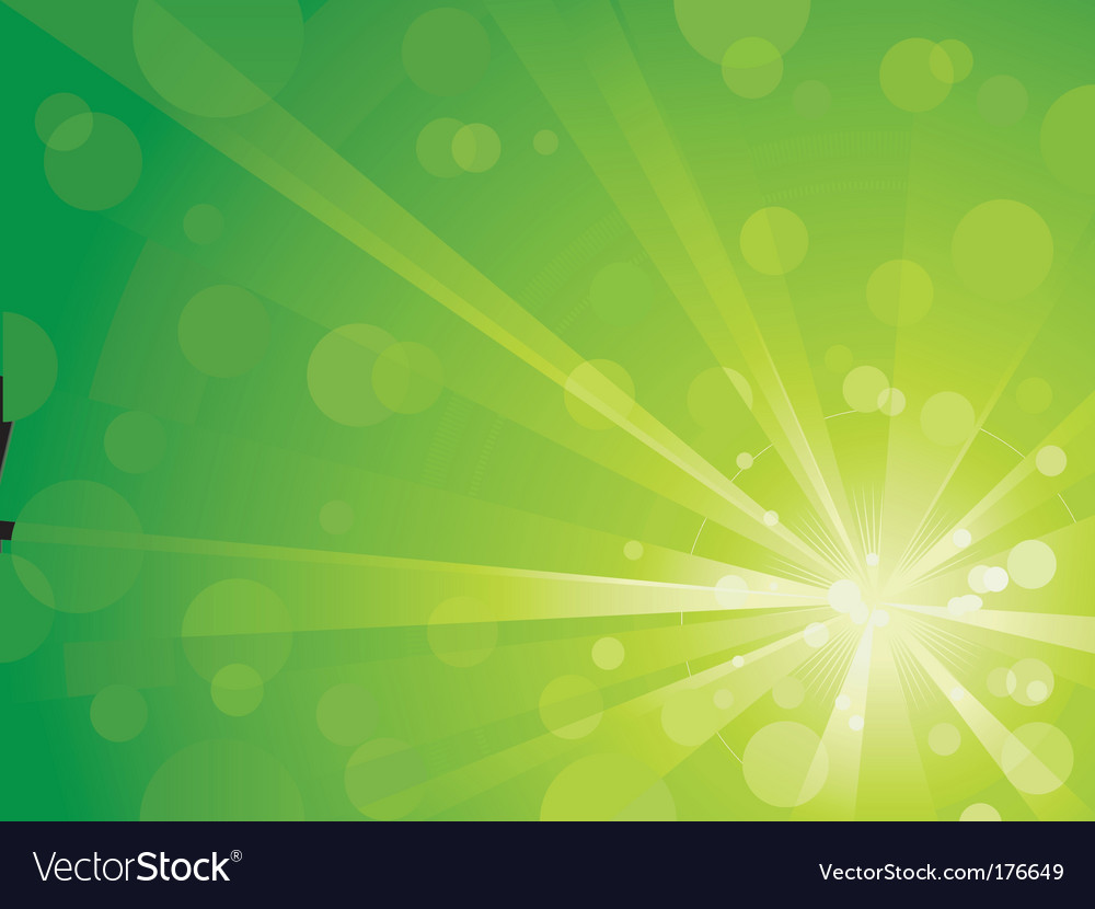 Light burst with shiny dots vector
