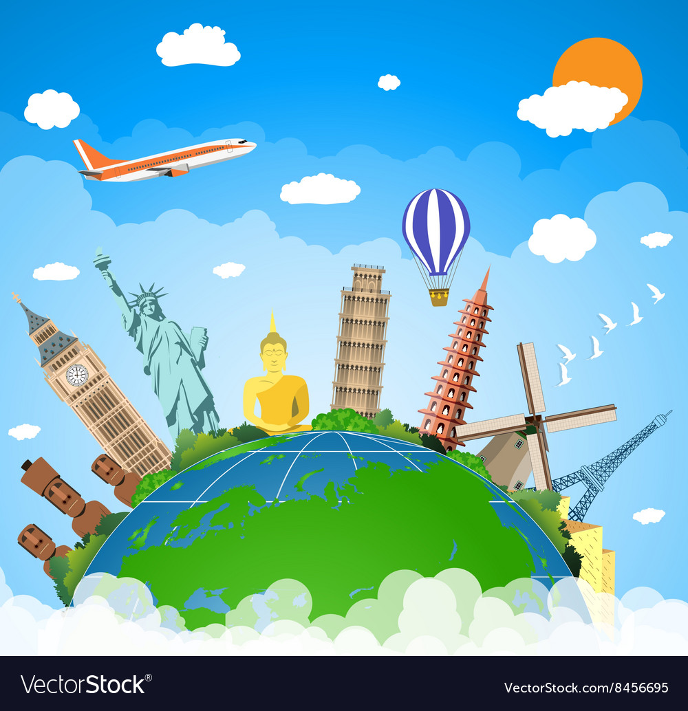 Concept of travel vector