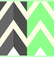 the pattern with gray and light green lines vector image