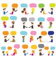 People Conversation vector image