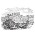 Conway Castle vector image