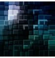 Abstract technology background with bright flare vector image