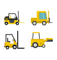 loader icon set flat style vector image