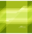Abstract background with green stripes vector image