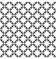 geometric seamless texture flowers crosses vector image