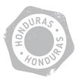 Honduras stamp rubber grunge vector image
