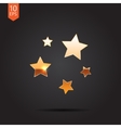 stars icon Eps10 vector image