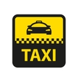 taxi icon Taxi car sign vector image