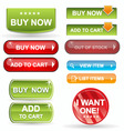 web icons buy items vector image