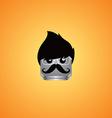 male avatar portrait vector image