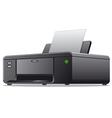 printer icon vector image vector image