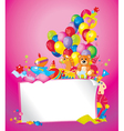childrens birthday vector image vector image