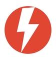 Flash icon vector image