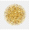 gold glitter texture golden sparcle on vector image