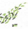 go green conceptual vector image vector image