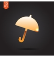 umbrella icon Eps10 vector image