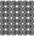 Black abstract lace vector image