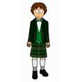 Mens north ireland clothing vector image