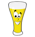 Happy beer vector image