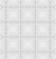 Textured with rotated triangles squares vector image
