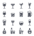 Alcohol Beverage Icon vector image