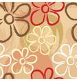 flower pastel print vector image