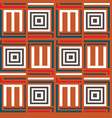 seamless pattern with ethnic elements vector image