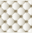 white upholstery texture seamless pattern vector image