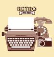 retro lifestyle vector image