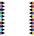 Set od Colorful Markers vector image