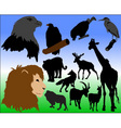 wildlife vector image