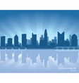 Columbus ohio skyline vector image