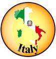 button Italy vector image