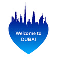 DubaiW vector image