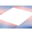 Rose Quartz Serenity Triangle Background vector image